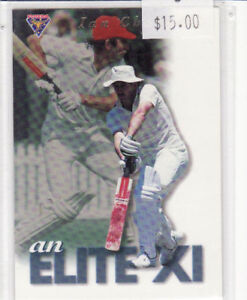 1994 FUTERA CRICKET ELITE XI SUBSET CARD  IAN CHAPPELL