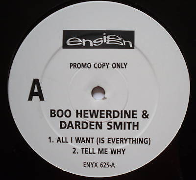BOO HEWERDINE & DARDEN SMITH - All I Want - Ex 12""