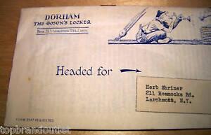 DORHAM MAIL IN MARINE CATALOGUE - 1957 VINTAGE PAPER AD PUBLICATION - RARE
