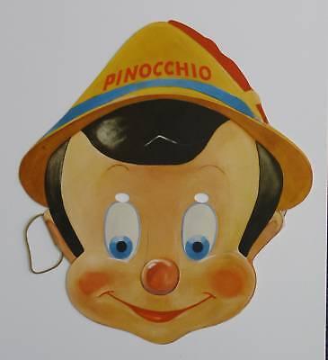 PINOCCHIO Paper Mask Gillette Premium 1939 + envelope!