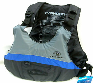 TYPHOON-CANOE-KAYAK-OVERHEAD-LIFE-JACKET-BUOYANCY-AID-L