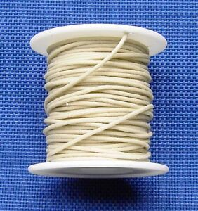 22 AWG WAXED CLOTH PUSHBACK WIRE FOR GUITAR PICKUPS (50) FEET ...