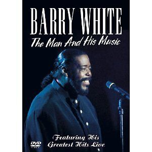BARRY WHITE - THE MAN AND HIS MUSIC -   DVD SUPER