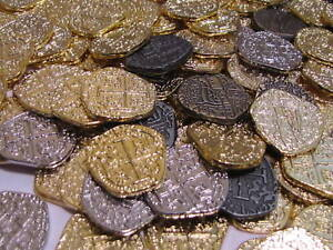 LOT-50-ATOCHA-PIRATE-TREASURE-COINS-GOLD-amp-SILVER-DOUBLOONS-COBS