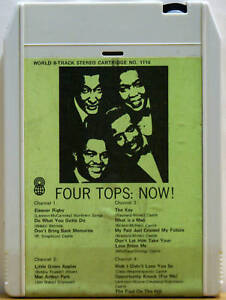 THE-FOUR-TOPS-Now-8-TRACK-CARTRIDGE-TAPE