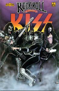 ROCK-ROLL-COMICS-9-KISS-1990-Revolutionary-1st-prt