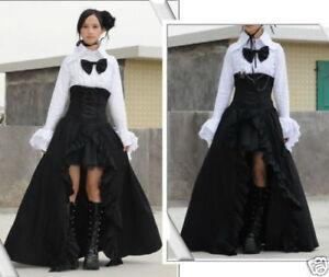 Visual-Punk-Gothic-NANA-Long-Skirt-underskirt-S046-M