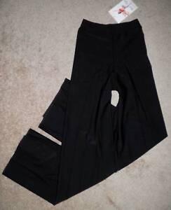 Bal-Togs-Black-Nylon-Dance-Jazz-Hip-Hop-Pants-Girls-1825-CHILD-Intermediate-6-7