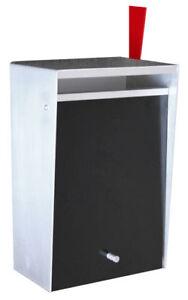 box design wall mount modern mailbox new - Modern Mailboxes