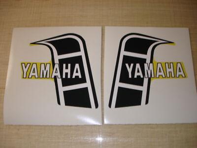 1982 Yamaha Yz 125/250 Gas Tank Decals Ahrma