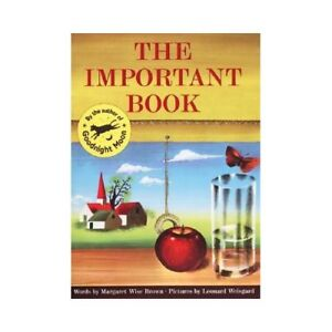 NEW The Important Book - Brown, Margaret Wise