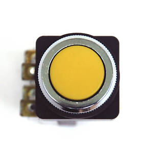 1-Push-Button-Switch-TBF-251-25-1A-1B-6A250VAC-Yellow