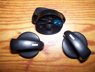 92-95-FORD-TAURUS-HEATER-CLIMATE-CONTROL-KNOBS-knob-set-BLUE-MERCURY-SABLE-93-94