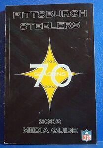 2002-PITTSBURGH-STEELERS-Football-Media-Guide