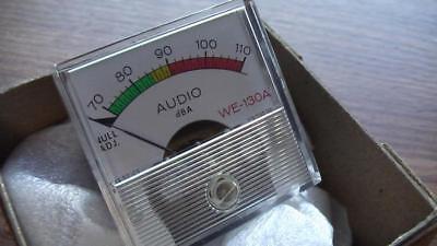 New Rca Vu Meter Audio Db Panel Viz 9140-166 We-130a