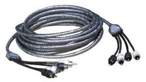 4-Kanal Chinch Cinch Kabel 5m 5 Meter verdrillt störfrei ZEALUM ZC-TS500-4