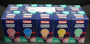 25W-Coloured-Light-Bulbs-ES-Screw-Base-Pack-Of-10