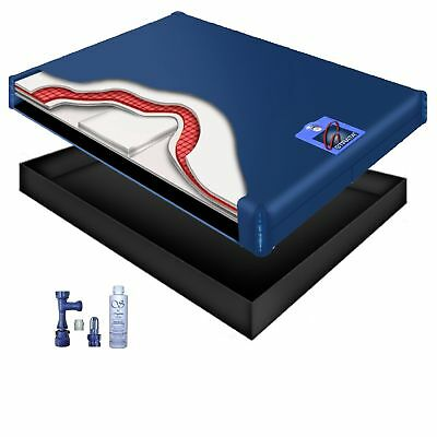 95% Waveless Waterbed Mattress Kit w/ Accessories