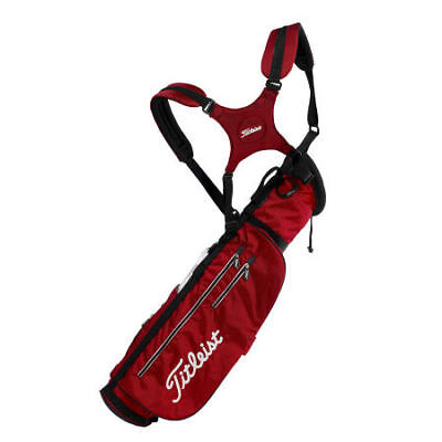 TITLEIST-PENCIL-BAG-2011-DUAL-STRAP-NEW-BLACK-OR-RED
