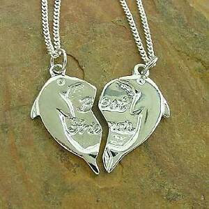 Best-Friends-Dolphins-Split-Pendants-Silver-Plated