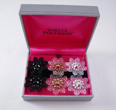 Tarina Tarantino Gift Set 3 Pairs Large Flower Earrings