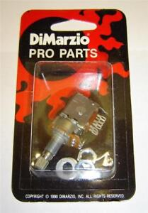Dimarzio-USA-250k-PUSH-PULL-POT-fits-Fender-Strat-Tele-and-Single-Coil-Pickups