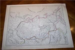 1848-COLOUR-MAP-OF-NORTHERN-ASIA-amp-ASIATIC-RUSSIA
