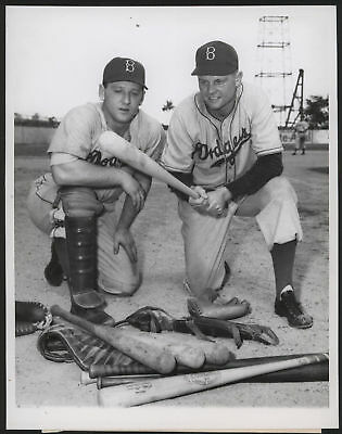 1947 Orig 1St Gen Press Photo   Edwards Tatum  Dodgers