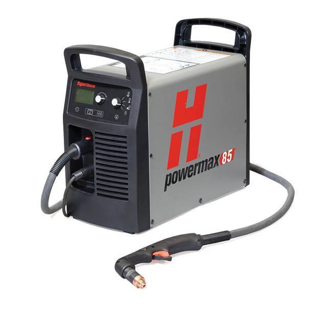 Hypertherm Powermax 85 Plasma Cutter 087108 25' Hand Torch System on Sale