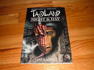 TAOLAND-Night-And-Day-5-Unique-comic-book-JEFF-AMANO