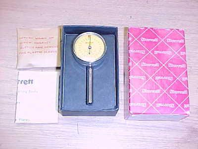 Starrett Tools .02mm Dial Test Indicator 196-m2b New