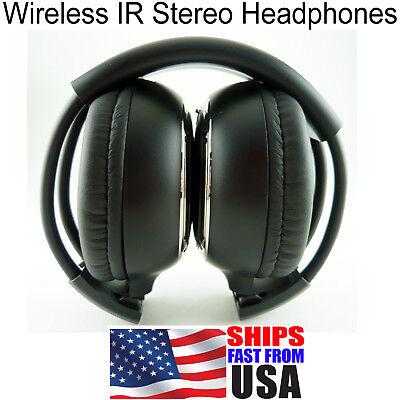 1 Clarion Panasonic Wireless Dvd Car Headphones Fast Free Shipping