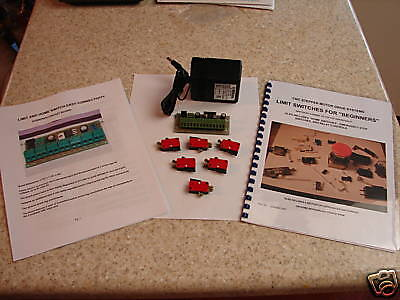 Cnc Stepper Motor Limit Board Combo With 6 Switches Kit