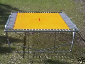 Rectangle Trampoline Olympic 14ft Gymnastic Competition