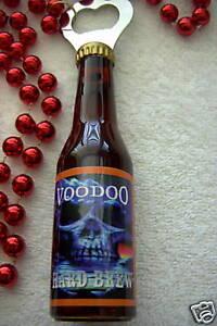 """Voodoo Beer Hard Brew"""" Bottle Opener Mardi Gras Necklace Bead B250 ..."""