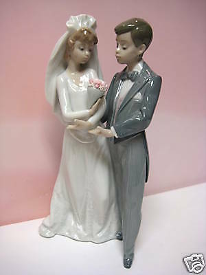 From This Day Forward Wedding Couple By Lladro Retired 5885 EBay