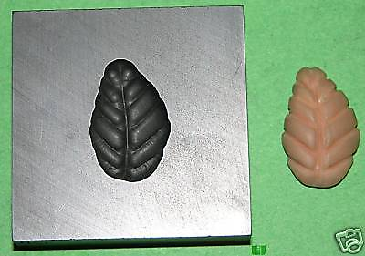 Leaf Base Push Mold 3/4x1 Graphite Glass Lampwork