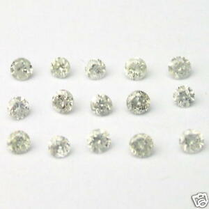 1-Carats-2-3mm-WHITE-ROUND-BRILLIANT-POLISHED-DIAMONDS