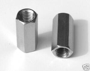 10-piezas-edelstahl-gewindemuffen-M8-X-30mm-HEXAGONAL