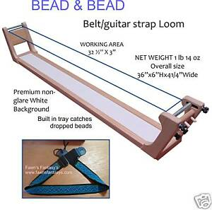 GUITAR-STRAP-BELT-BEAD-WEAVING-LOOM-BEAD-BEAD
