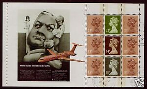 GRAN-BRETAGNA-1988-FINANCIAL-TIMES-LIBRETTO-PREGIATO-USATO