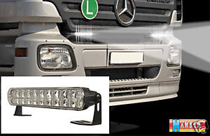Led tagfahrlicht 24 volt 24v mb lkw mercedes benz actros for Mercedes benz font download