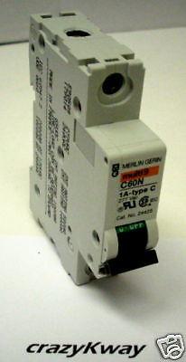 Square D Mg24425 Circuit Breaker 1p 1a 277vac Code 34614 In Box
