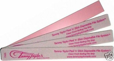 Tammy Taylor Peel N Stick Clean Finish File Strips 25 Pk