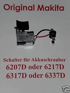 MAKITA - E. SCHALTER für 6207D o. 6217 D o. 6317D o. 6337D  Makita Nr.638144-2