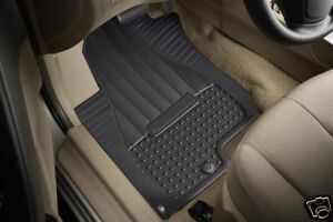 2009 2010 Hyundai Elantra Touring All Weather Rubber Mats Floormats 2011 2012