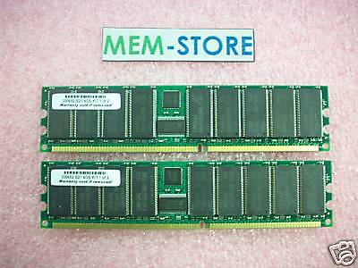 187421-b21 4gb (2x2gb) Pc2100 Memory Kit Hp Proliant