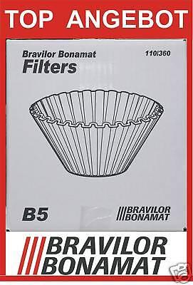 BONAMAT Korbfilter B 5 - 1 x 250 Stück