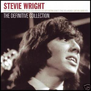 STEVIE WRIGHT - DEFINITIVE COLLECTION CD ~ EVIE ~ EASYBEATS ~ BEST OF HITS *NEW*