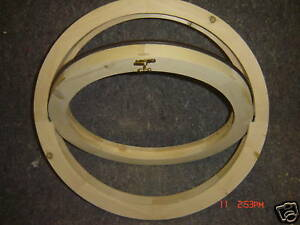 Laminate Timber Round wooden window opening 600 m/m For Painting Only